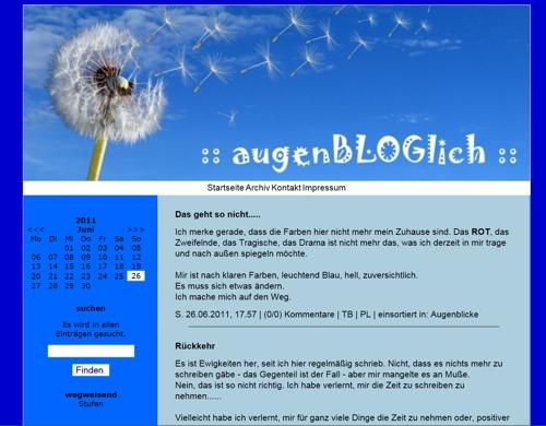 augenBLOGlich DesignBlog